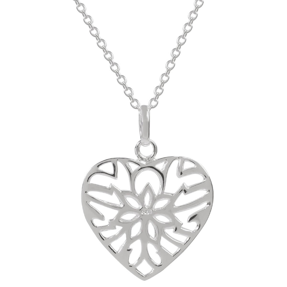 1200x1200 Sophie Oliver Barcelona Lattice Heart Necklace Sophie Oliver