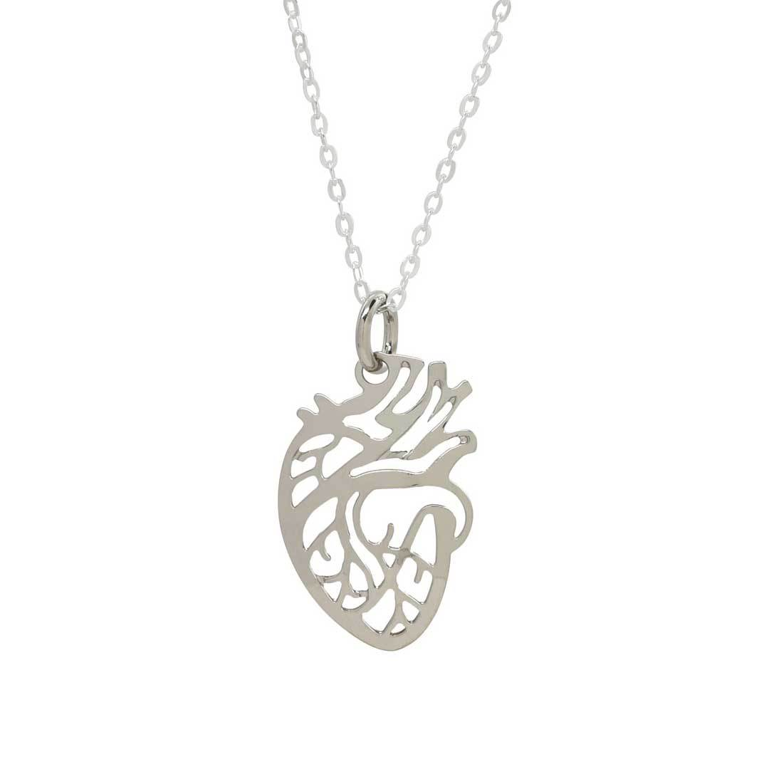 1080x1080 Anatomical Heart Necklace