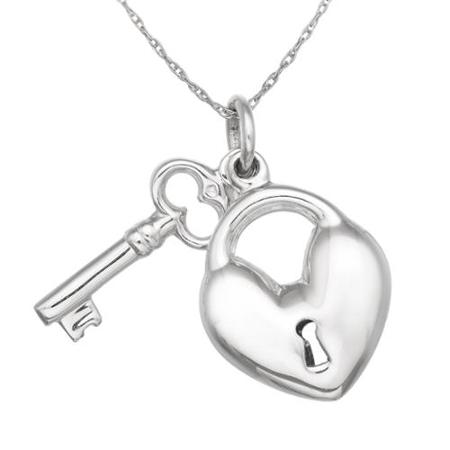 450x450 Cheap Silver Heart Lock Necklace, Find Silver Heart Lock Necklace