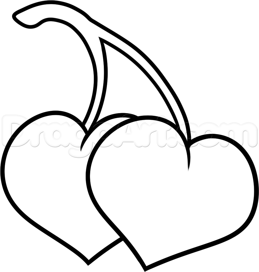901x947 Pics Of Hearts Drawing How To Draw A Heart With Flames