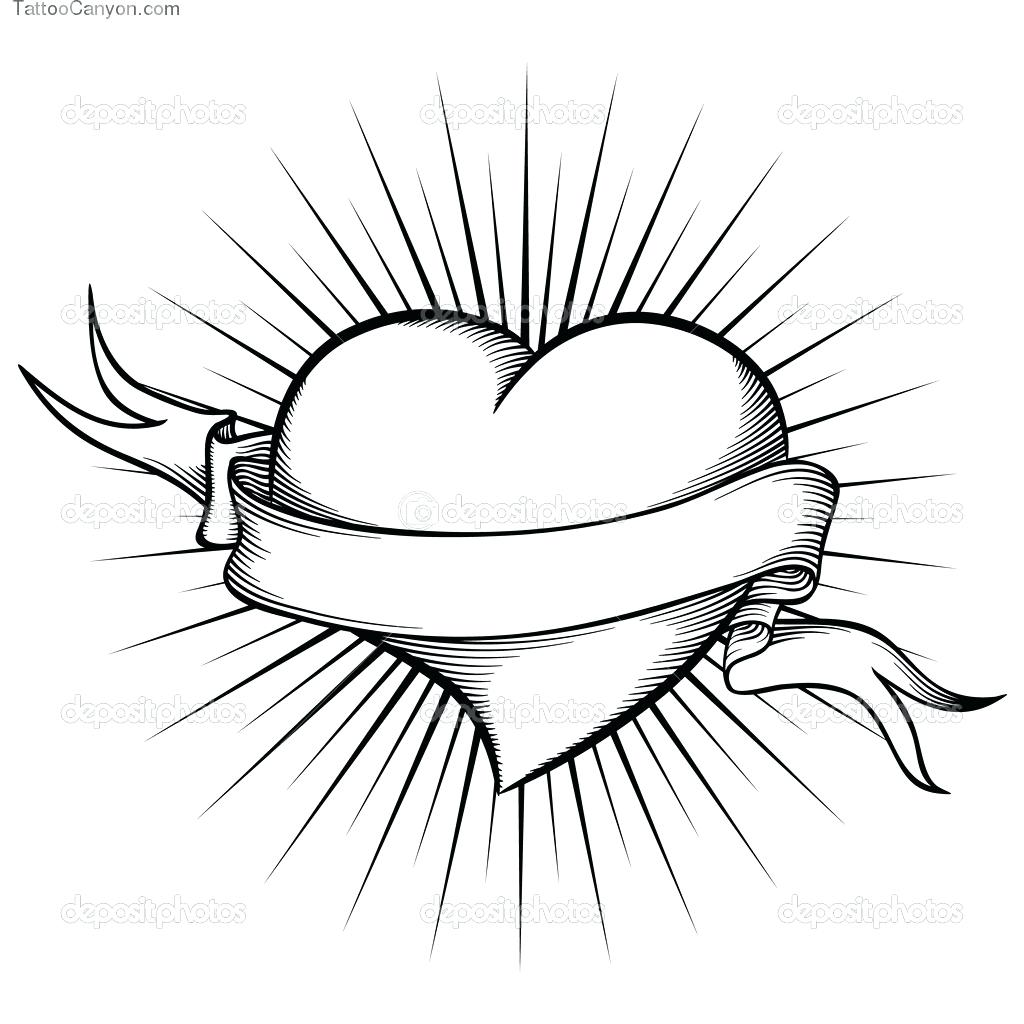 1024x1024 Printable Heart With Wings Coloring Pages For Kids Angel Sheets