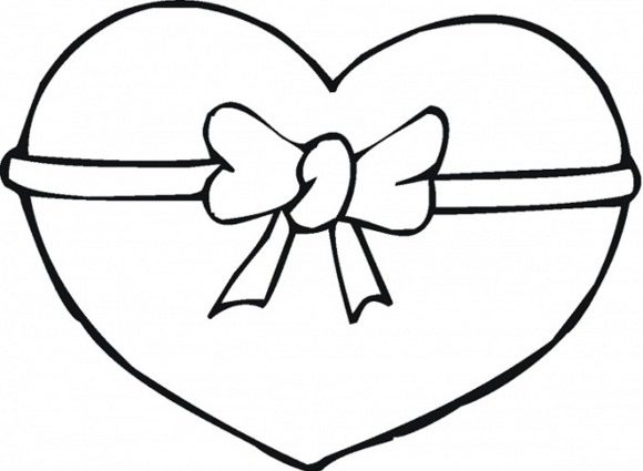 580x425 How To Draw Easy Hearts Drawing Of Hearts Free Download Clip Art