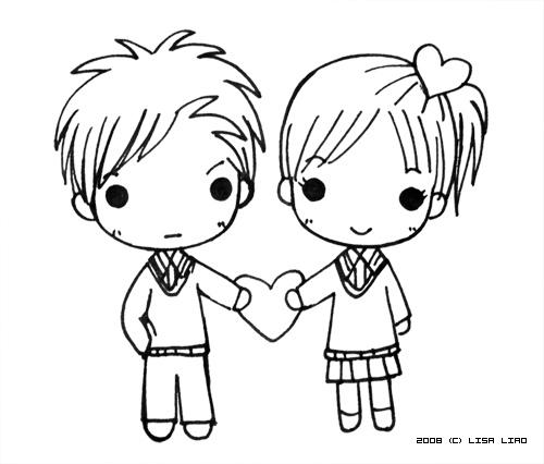 500x426 Cute Love Drawings Pin Emo Love Heart Broken Drawings Images