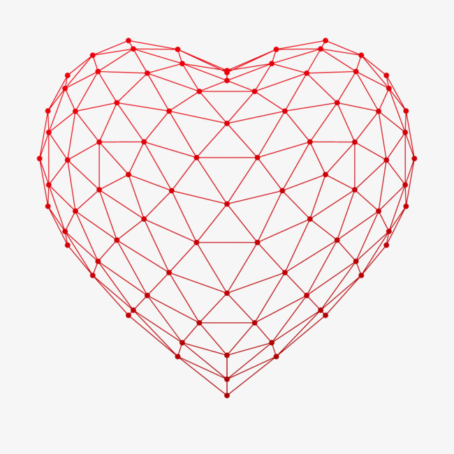 650x651 Heart Shaped Woven Line, Braid, Red, Heart Shape Png And Vector