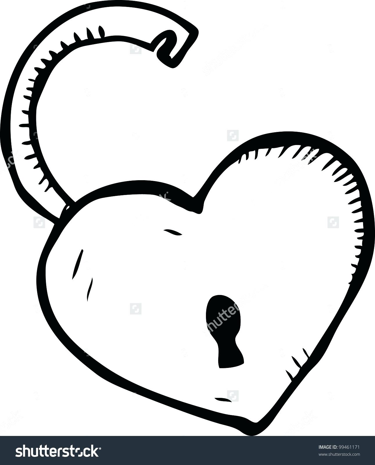 Line Art Heart Shape : Heart shape line drawing at getdrawings free for