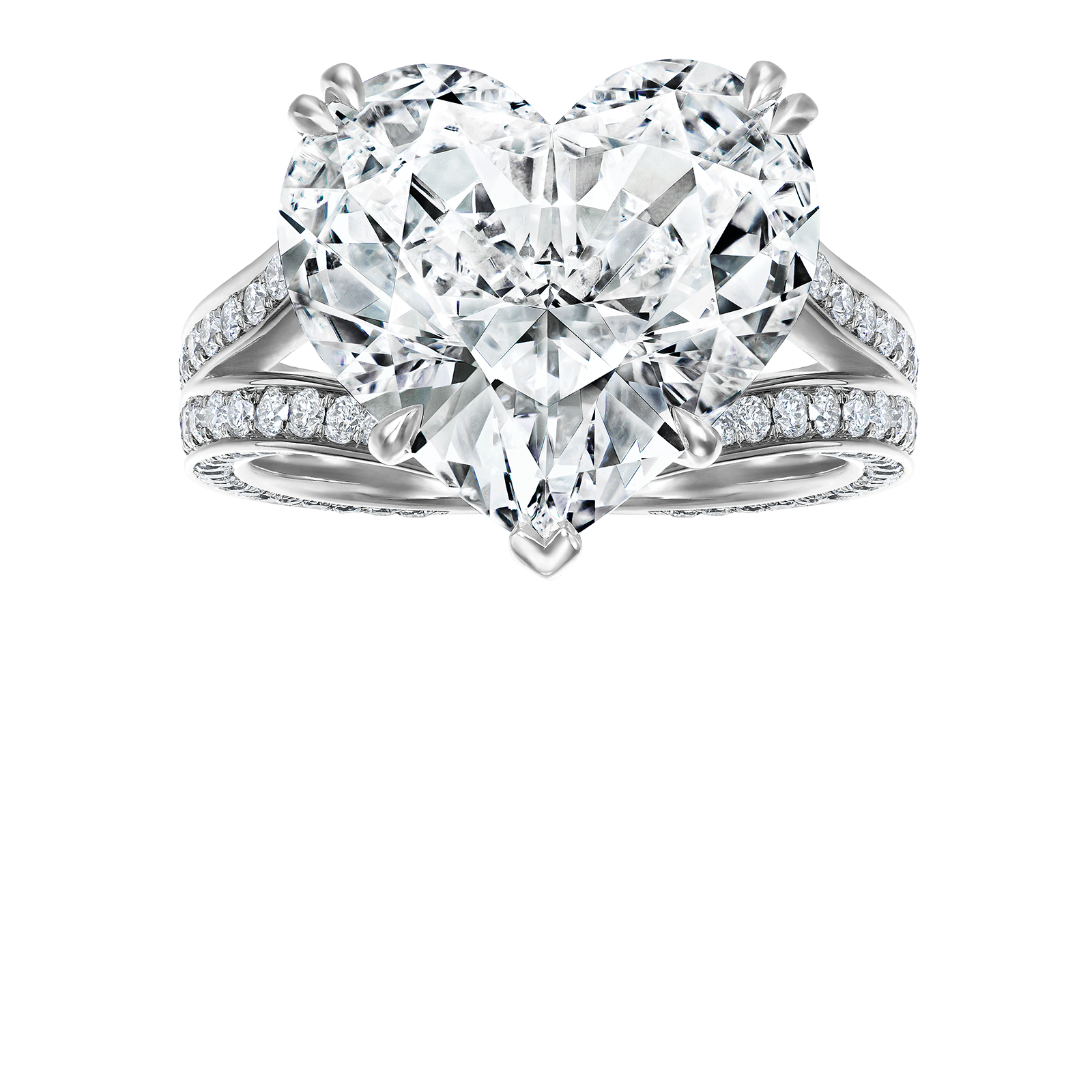 1600x1600 Heart Shaped Diamond Ring