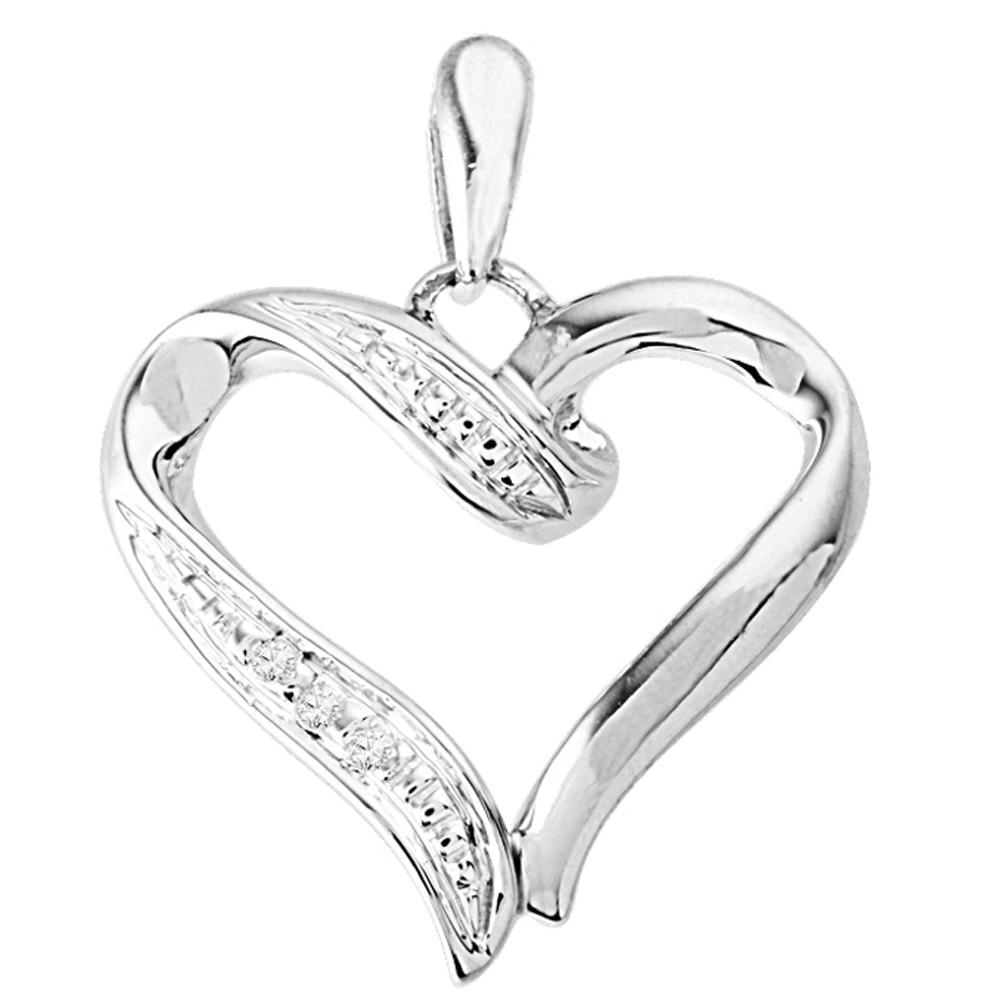 1000x1000 Heart Shaped Diamond Pendant By Jpearls Gold Pendants