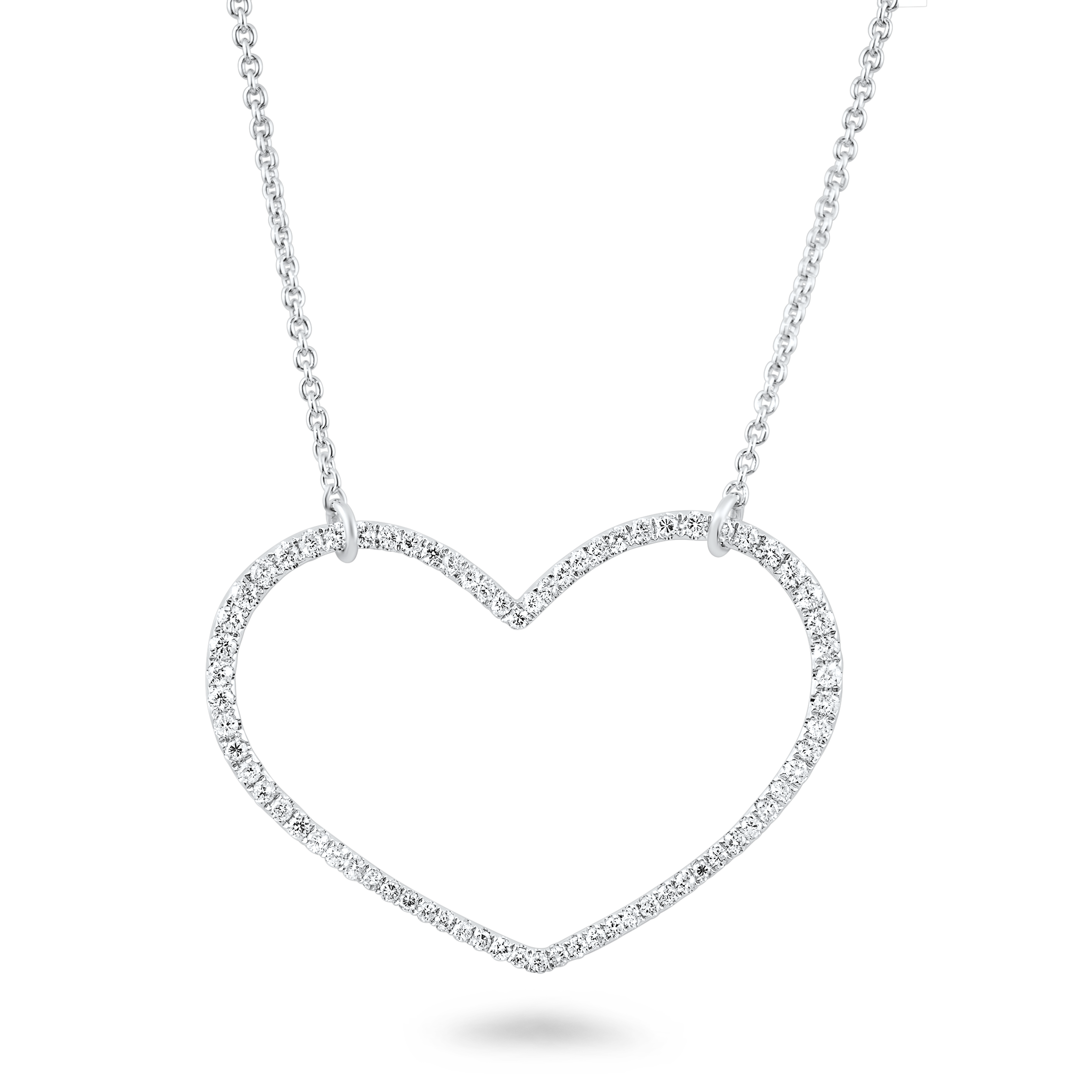 2200x2200 Beautiful Heart Shaped Diamond Necklace Diamondland