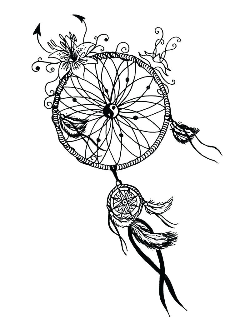 736x1034 Dreamcatcher Coloring Pages Coloring Pages Coloring Home Free