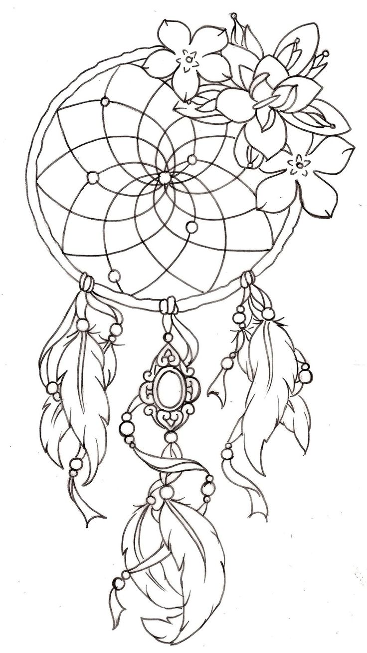 736x1308 Meaningful Dreamcatcher Tattoos Ideas