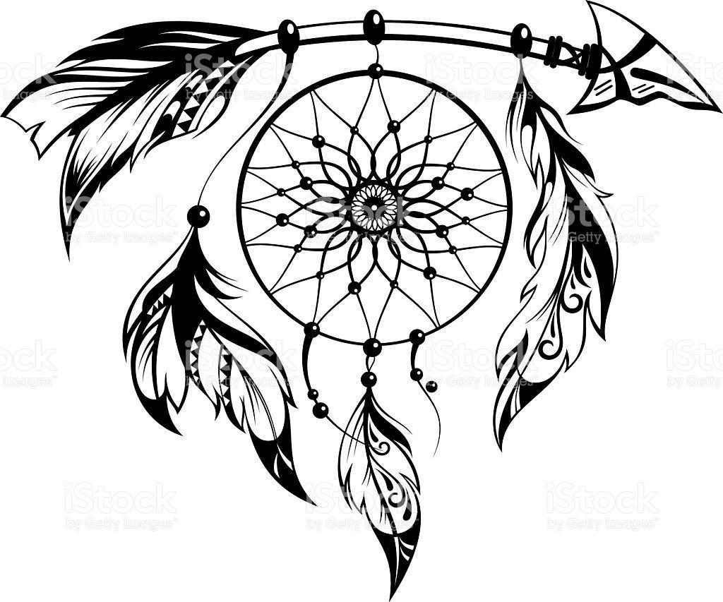 1024x853 Moon Dream Catcher Feathers Vinyl Decal Dreamcatcher Mandala Decal