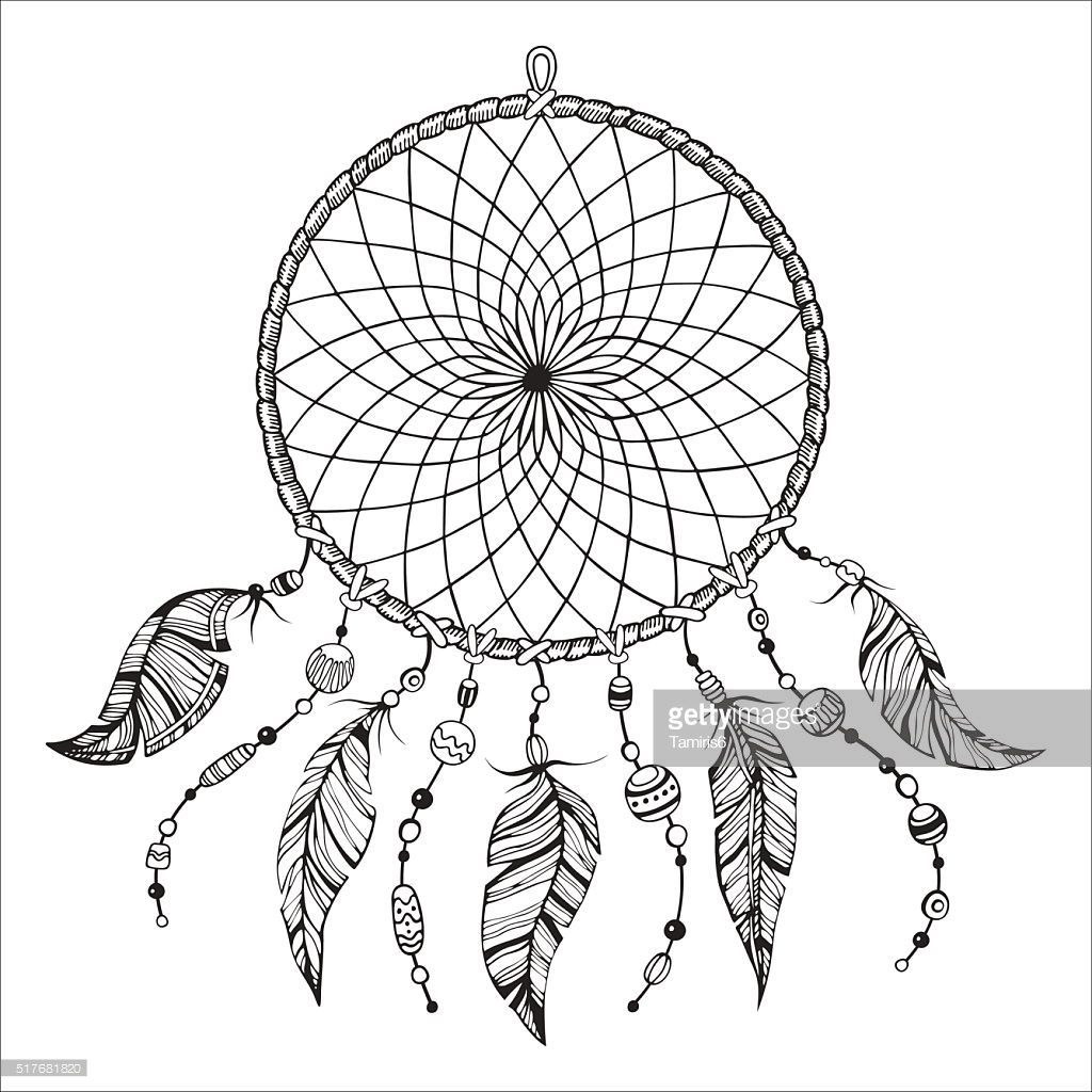 Heart Shaped Dreamcatcher Drawing at GetDrawings | Free ...