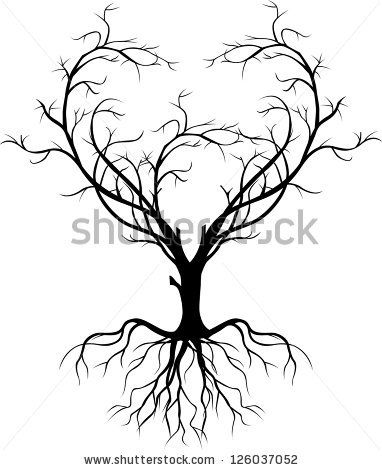 382x470 Rowan Tree Drawing With Roots Explore New Start