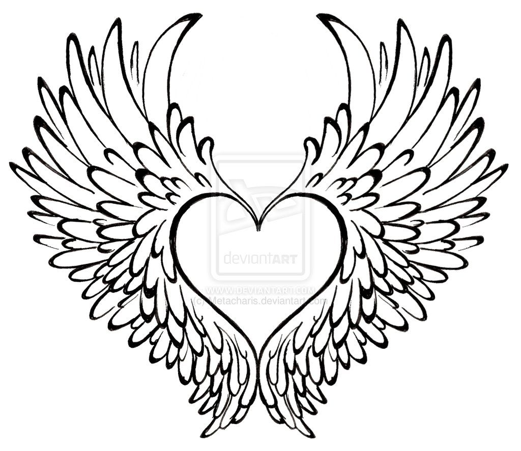 1024x887 Pictures Hearts With Wings,