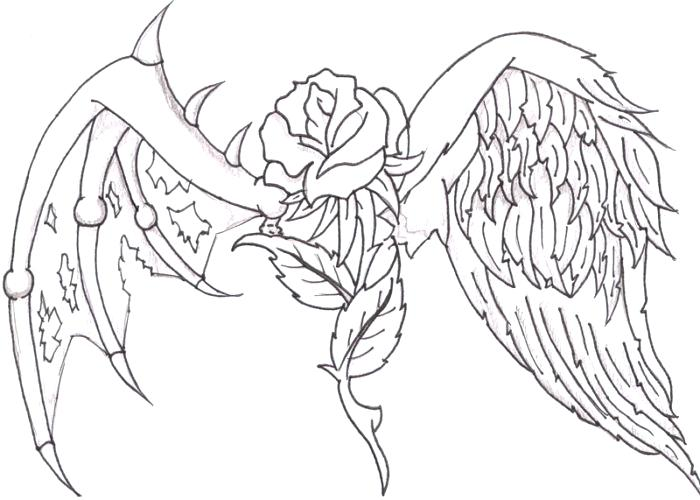 700x500 Coloring Pages Of Hearts Wings Heart Coloring Pages