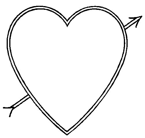 501x477 Valentine's Coloring Pages