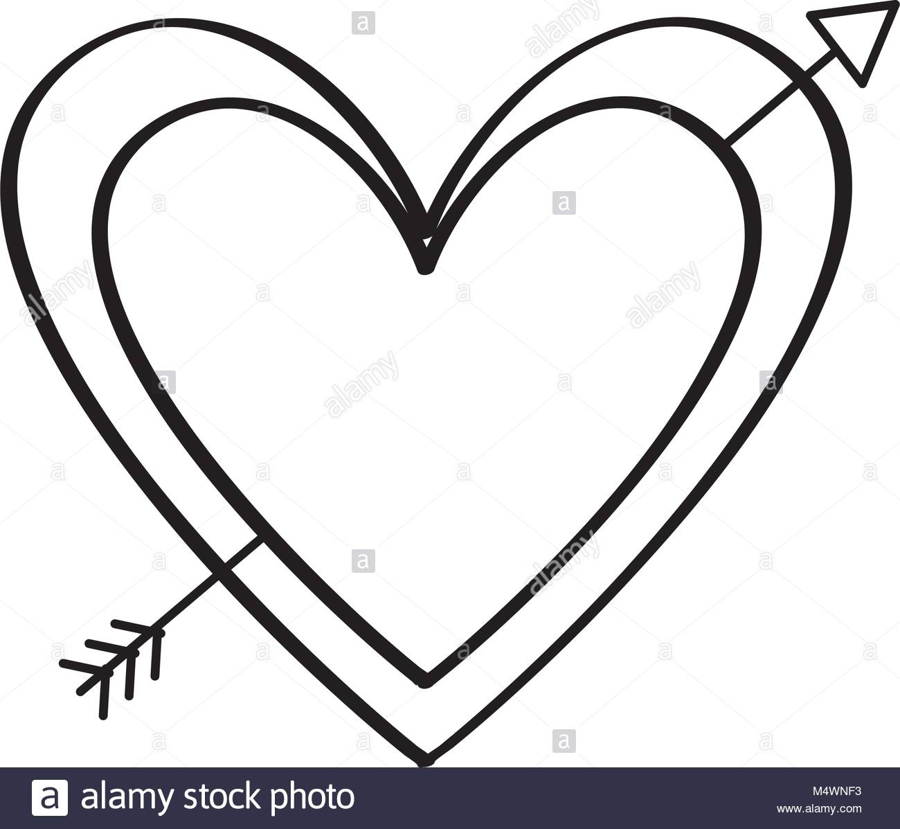 1300x1197 Arrow Pierced Heart Stock Photos Amp Arrow Pierced Heart Stock