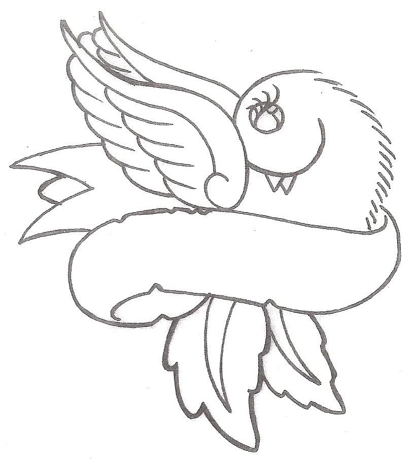 820x910 Banner Heart Bird Tattoo Designs In 2017 Real Photo, Pictures