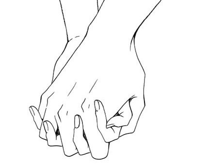 429x342 How To Draw Hands Making A Heart. A Hand Holding A Human Heart By