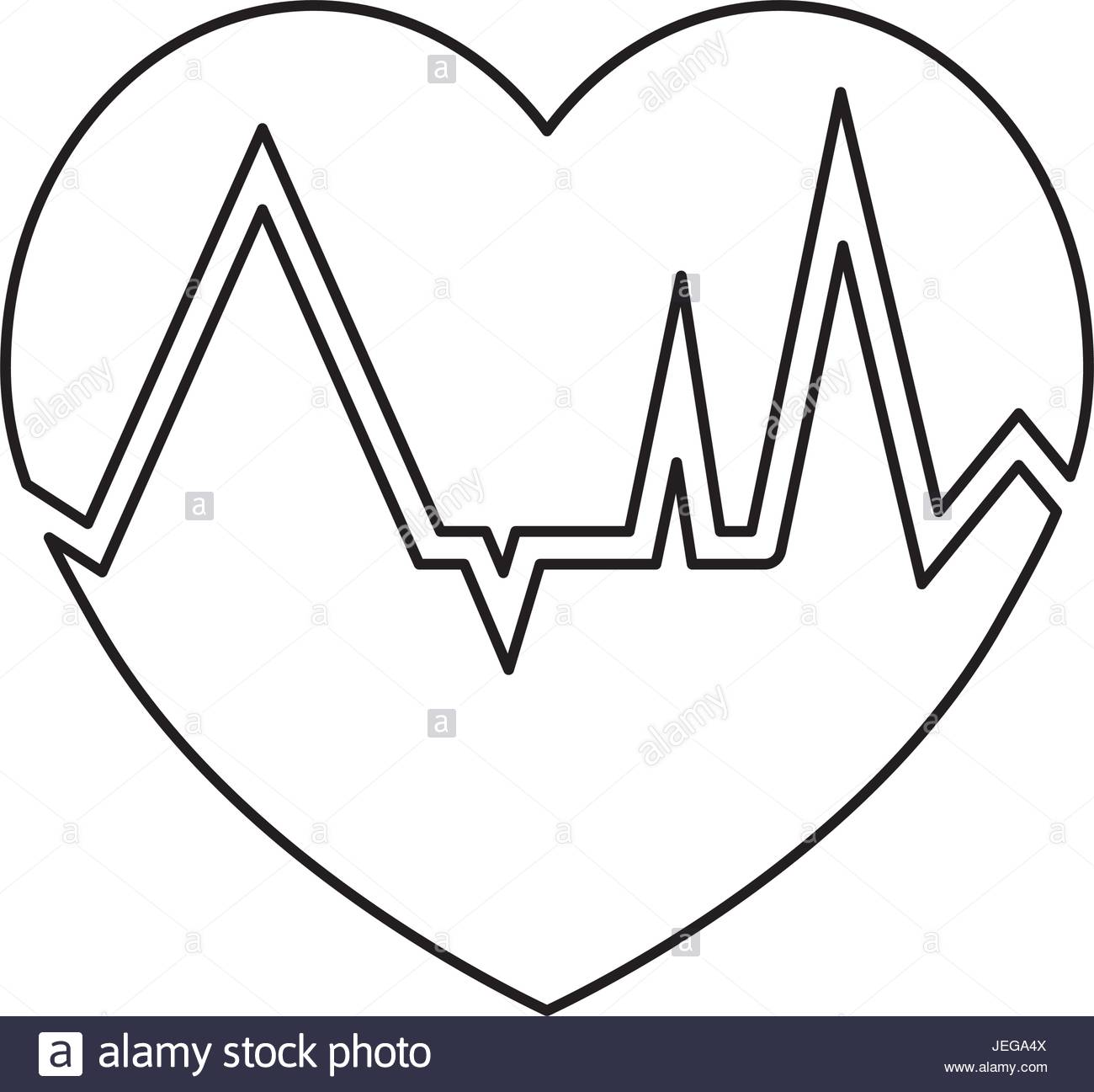 1300x1297 Heartbeat Count Red Stock Vector Art Amp Illustration, Vector Image