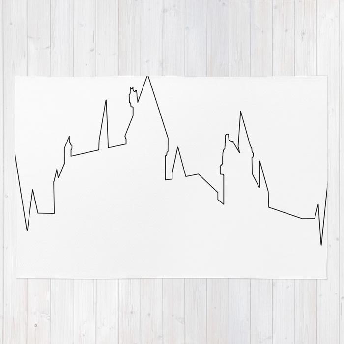 700x700 Hogwarts Heartbeat Rug By Arielleplnd Society6