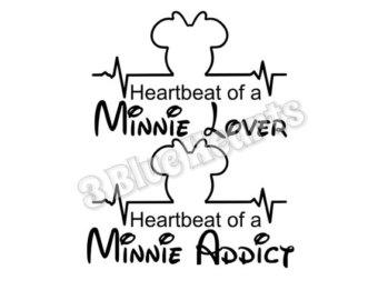 340x270 Minnie Heartbeat Etsy