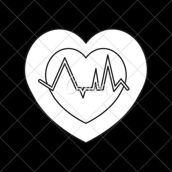 550x550 Heartbeat Icon