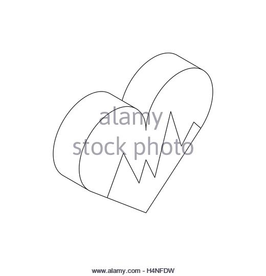 520x540 Heartbeat Line Black And White Stock Photos Amp Images