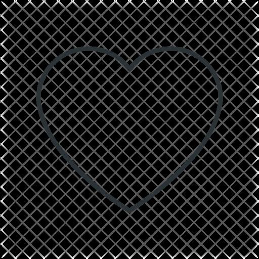 512x512 Love, Heart, Shape, Like, Favorite, Heartbeat Icon