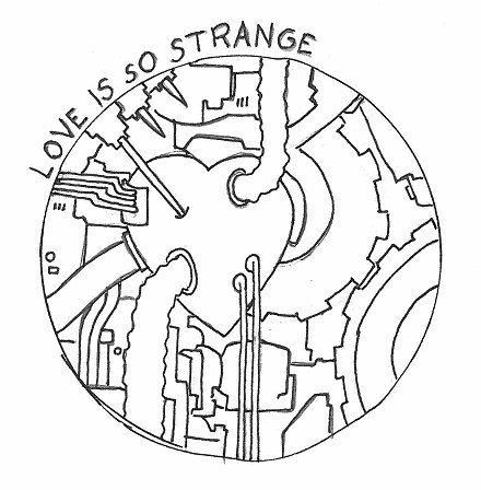 440x448 Love Is So Strange By Robobenito Love Cartoon Toonpool
