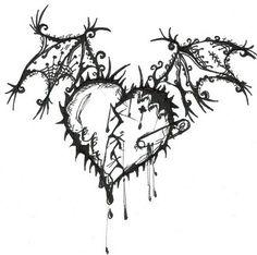 236x234 Broken Heart, Amazing Pencil Drawings,