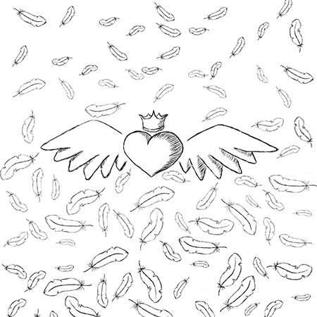 450x450 Heart With Wings Tattoo Meaning