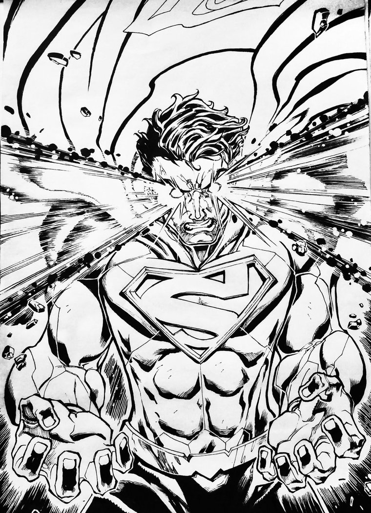 760x1050 Superman Heat Vision By Z Control