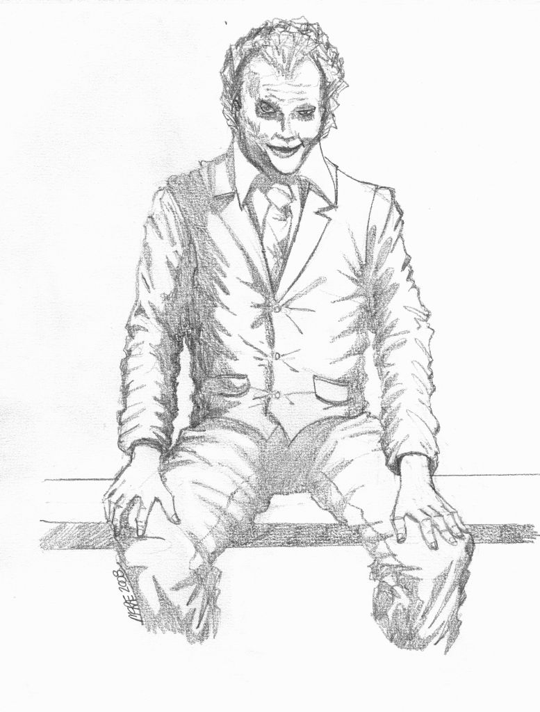777x1024 Heath Ledger As The Joker By Jedi34567