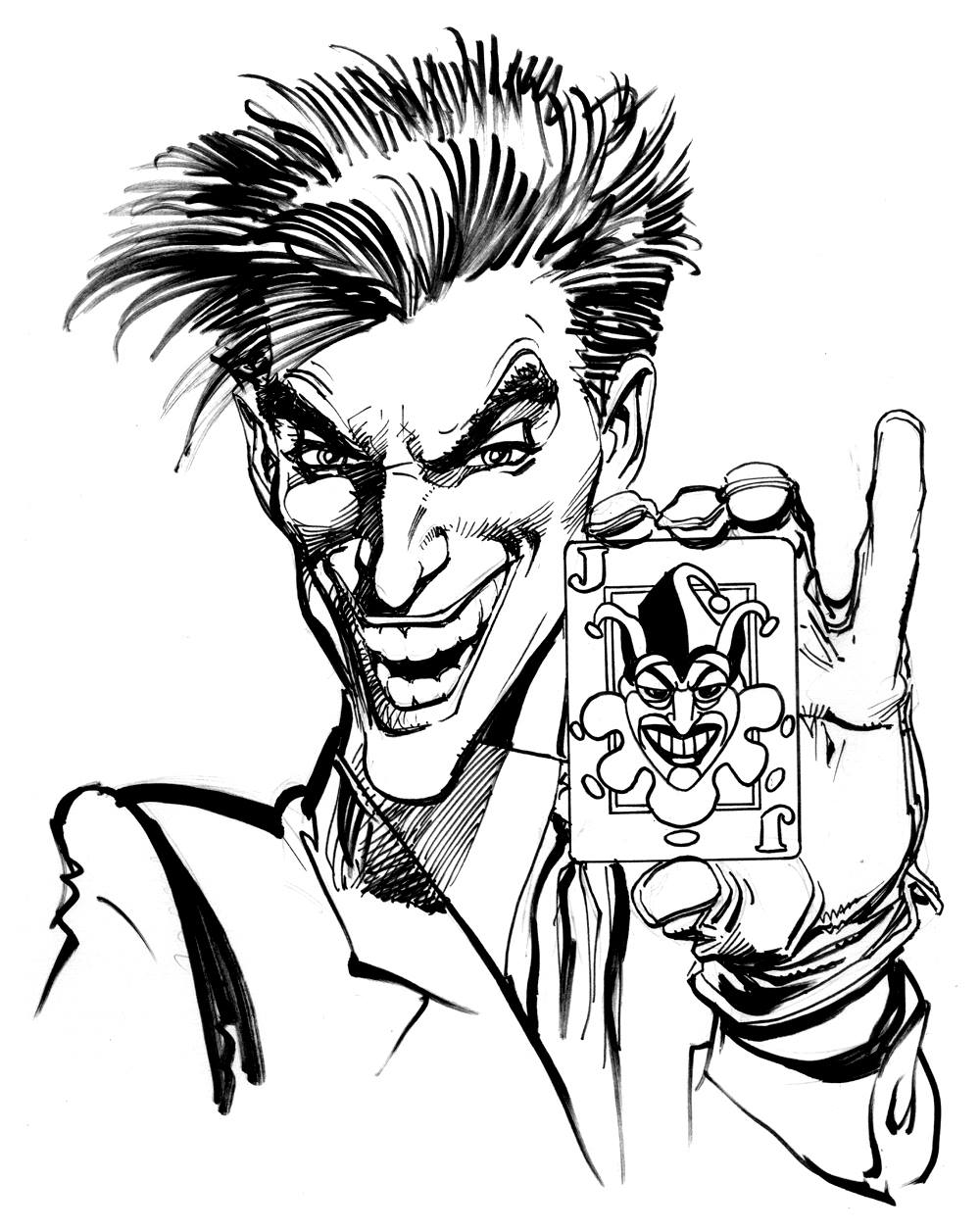 1000x1256 Joker (Neal Adams) Joker Joker, Batman And Comic