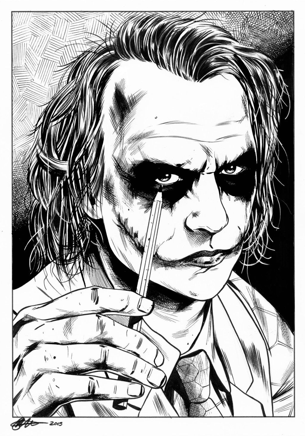 1024x1464 Joker David Golding 2015 By Davidgolding