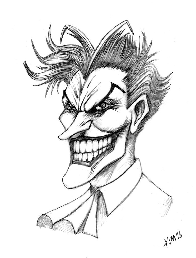 778x1026 The Joker Drawings The Joker Drawing Drawing Pictures