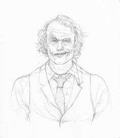 236x271 Joker Heath Ledger Portrait Tattoo Cleanfun Portraits