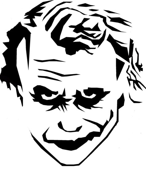 475x550 Heath Ledger The Joker Vinyl Decal Choose From 5 By Kimsvinyls