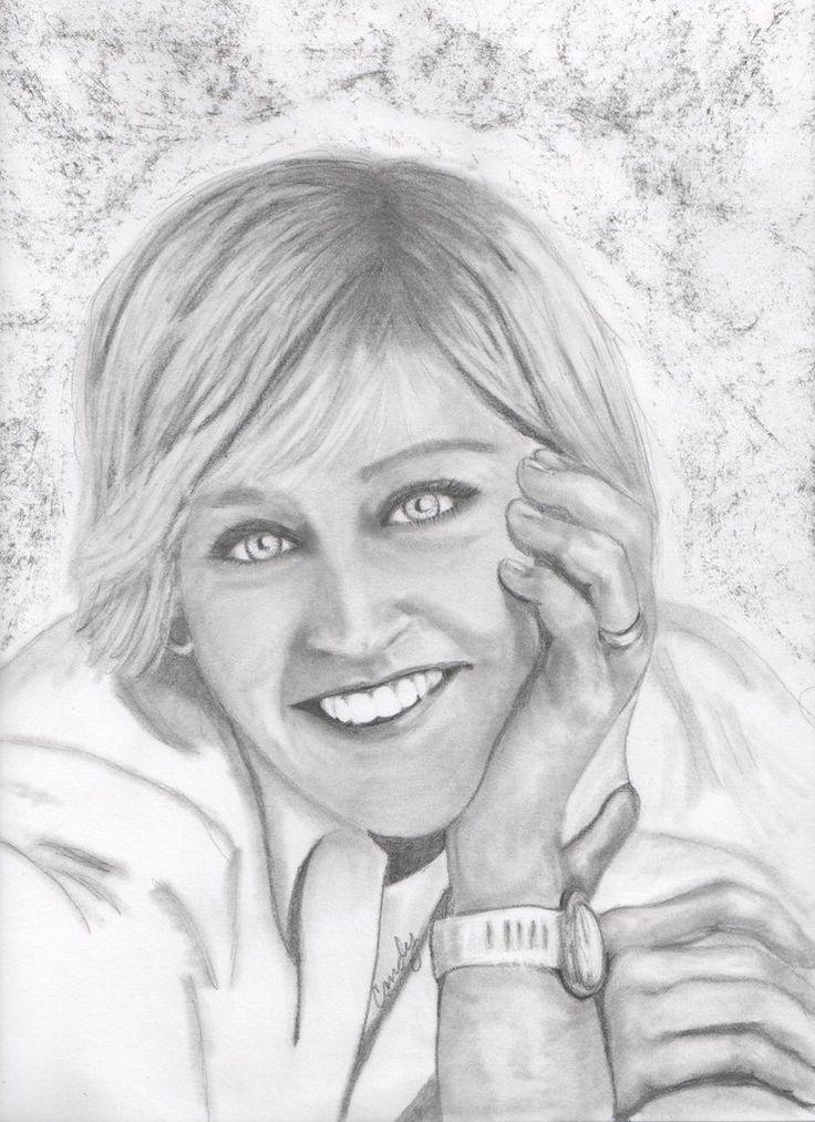 736x1013 343 Best Art Thou Ellen!! Images On Ellen Degeneres