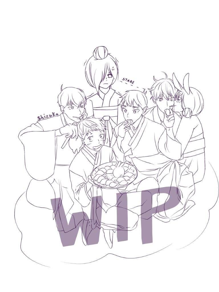 768x1024 Heaven And Hell Roman Company Characters~ Anime Art Amino