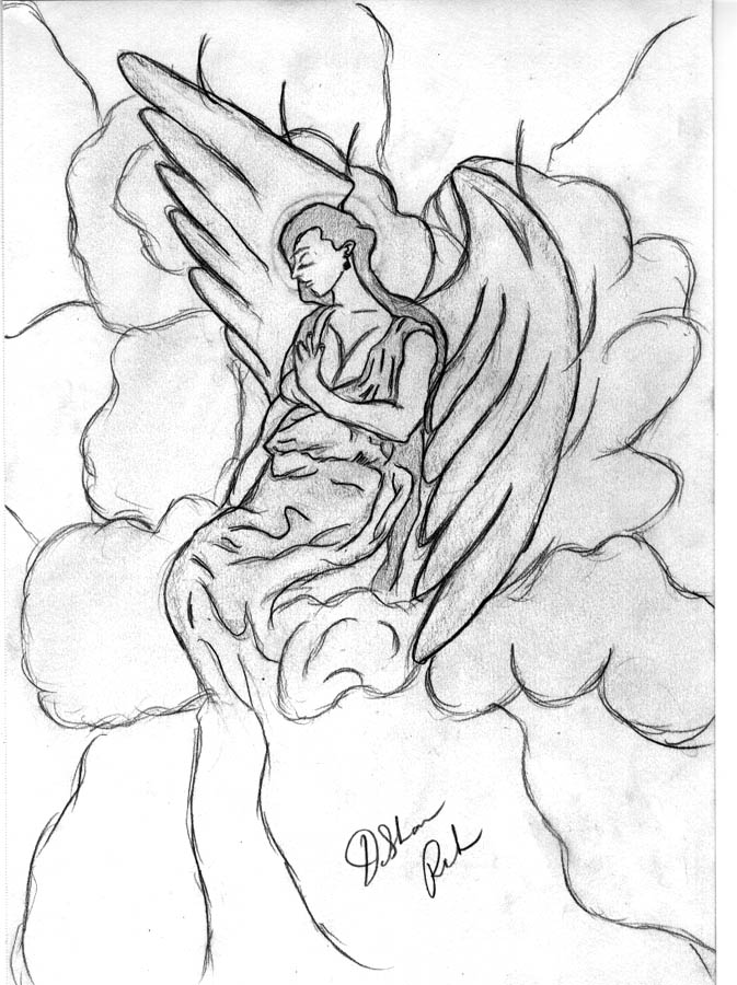 673x900 The Angels In Heaven By Leomoses