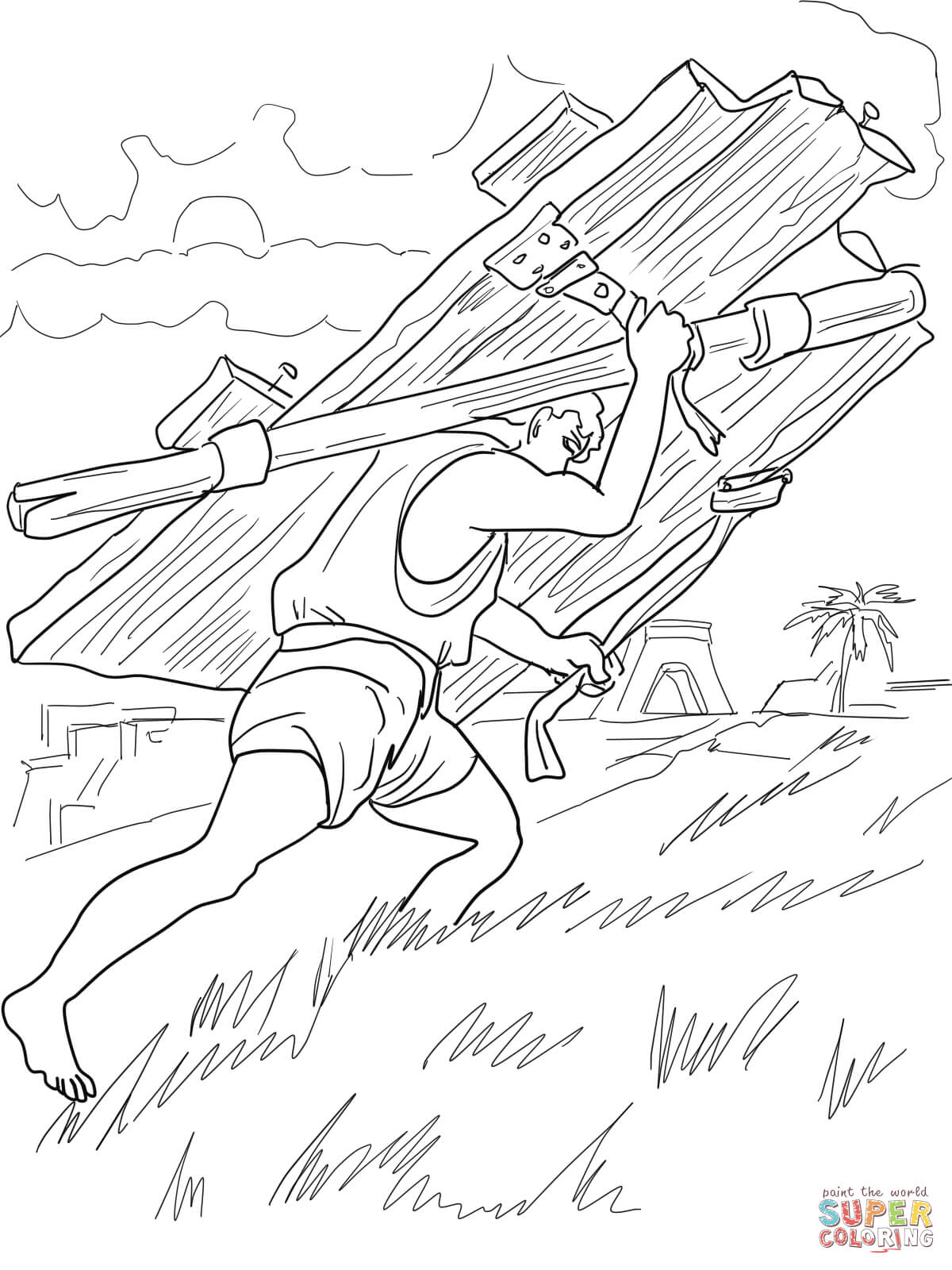 1200x1600 Heaven's Gates Coloring Page Free Printable Coloring Pages