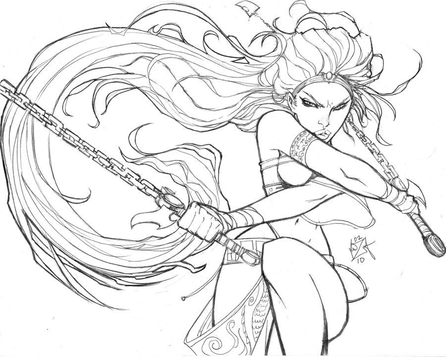 900x721 Heavenly Sword Fan Art Videogame Art Heavenly