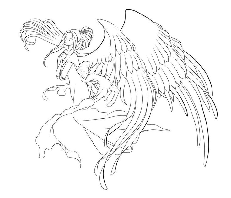 736x630 428 Best Lineart Angels Images On Angels, Angel