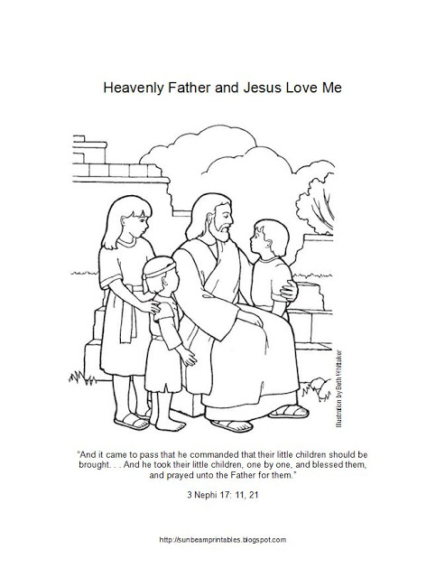 493x640 Lesson 6 Heavenly Father And Jesus Christ Love Me