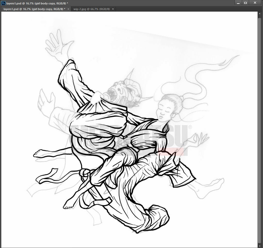 1020x963 Meerkatsu Art Grapplethon 2014 Heavenly Bow And Arrow Choke