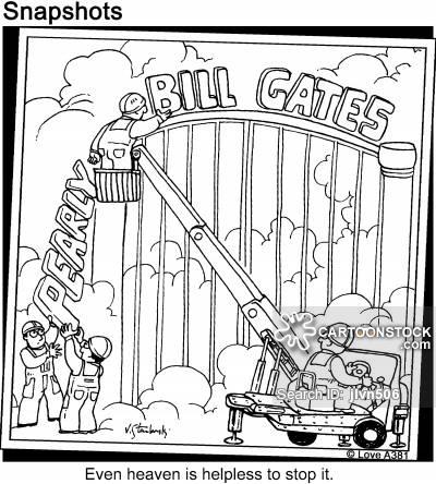 400x444 Gates Cartoons And Comics