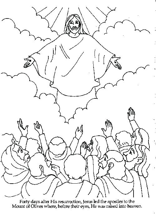 500x683 Heaven Coloring Pages Baptism Of Jesus Coloring Page Coloring Page
