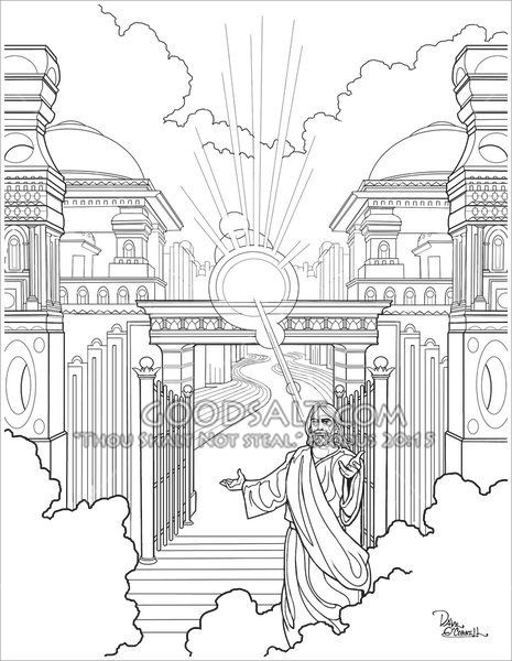 465x600 58 Best Adult Christian Coloring Pages By Dave O'Connell Images